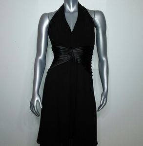 TADASHI • Modern Silk Cocktail Dress / size 8